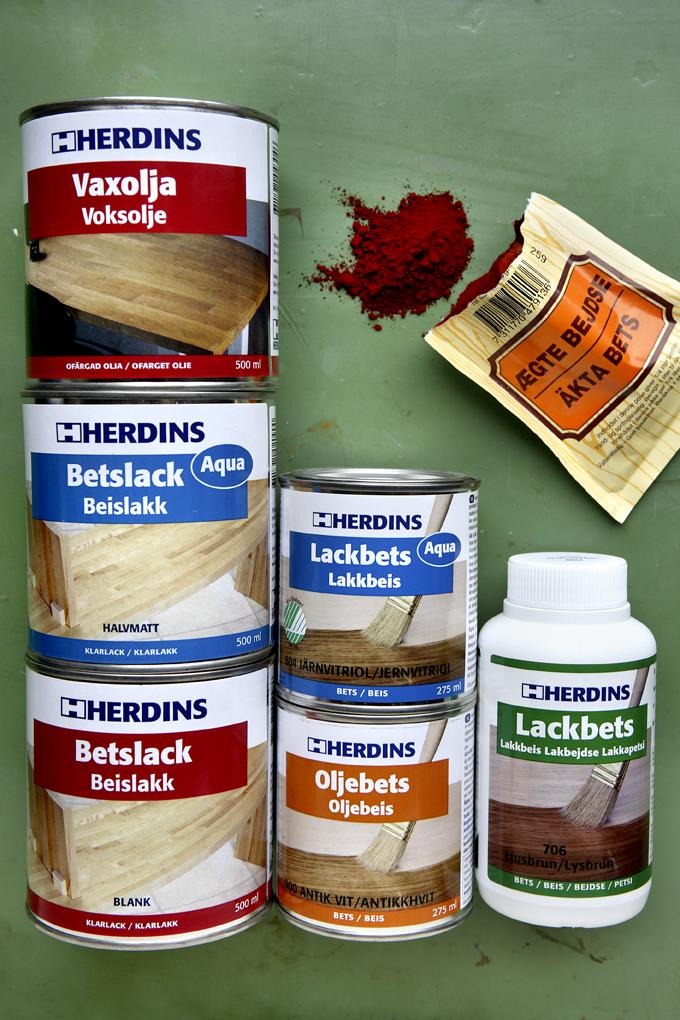 bejdse farver Herdins produkter   Farvefabrikken Skovgaard & Frydensberg bejdse farver